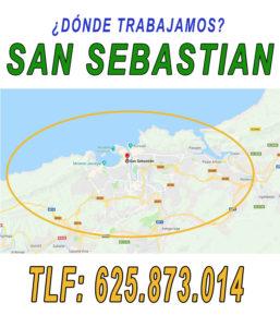 estamos en San Sebastian